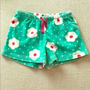 Mini Boden Girls Toweling Shorts, Sz 8